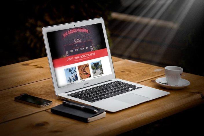 Camas Boosters Homepage