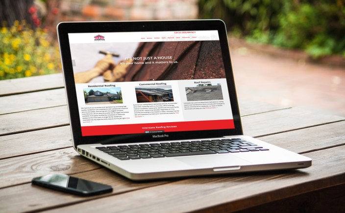 Interstate Roofing Website