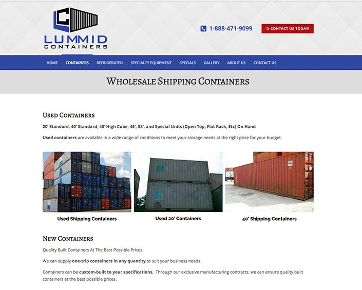 Lummid Containers