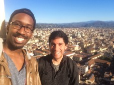 Michael and I in Florence, Italy