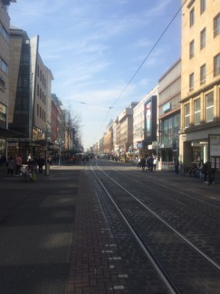 Planken St. (the main shopping road)