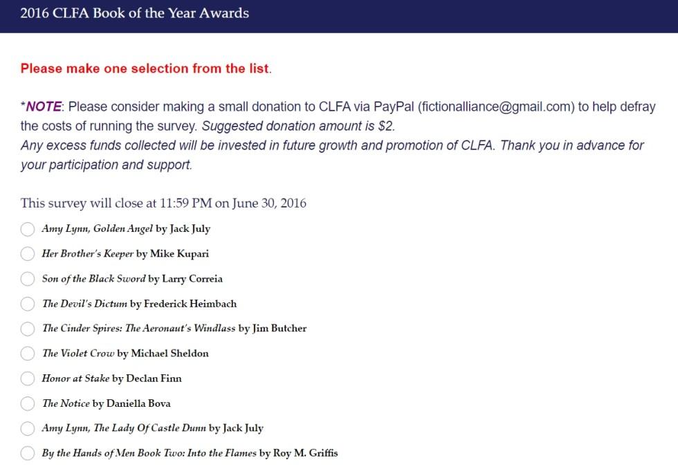CLFA 2016