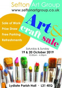 art exhibiton, lydiate, october 19th & 20th, 2019. art classes, liverpool, merseyside, beginners painting class, lancashire