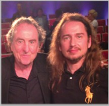 Monty Python's Eric Idle and Roy Orbison Jr