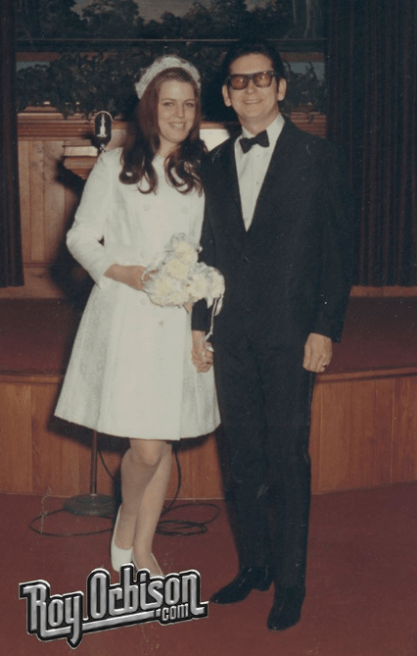 Roy Orbison Barbara Orbison Wedding