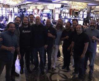 Alex Orbison Bachelor Party - Las Vegas!