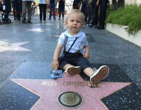 Roy Orbison 3 on Roy Orbison Hollywood Star