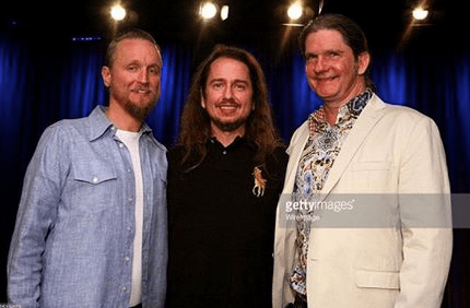 The Orbison Brothers left to right: Alex Orbi Orbison, Roy Orbison Jr, Wesley K. Orbison