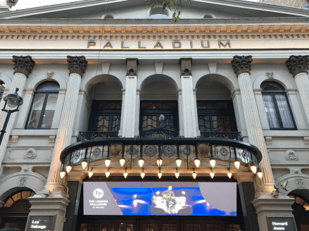 The London Palladium! Where Roy Orbison would play weeks at a time.