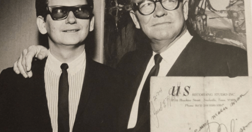 t was my granddad, Orbi Lee Orbison's, birthday yesterday. January 8th. Love and miss him. Here's a pic with my Dad.