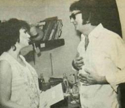 Linda Ronstadt and Roy Orbison