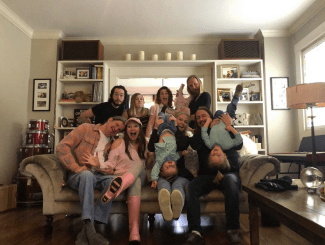 The Orbison Family! (All living descendants of Roy Orbison are in this picture.)