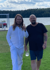 Happy Midsummer from Anders Bagge and Me!