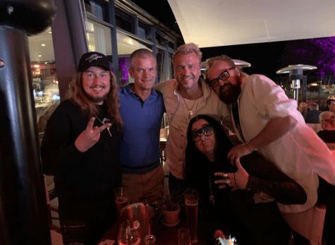 Roy Orbison Jr, Jesper Parnevik, Ulf Ekberg, Jonas Akerlund, Johan Lindeberg)