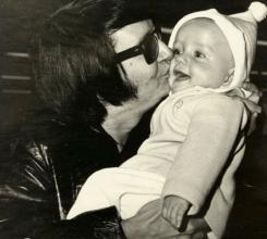 Dad & me as a baby! (RoyOrbison & Roy OrbisonJr)