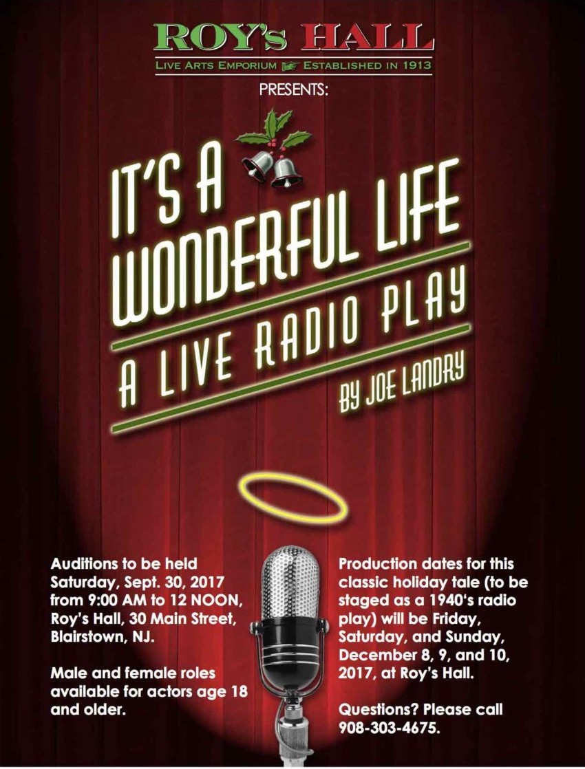 """It's A Wonderful Life"" Auditions"