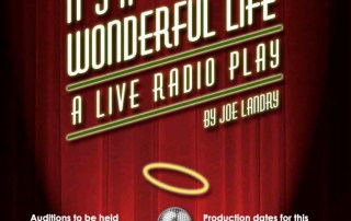 """""""It's A Wonderful Life"""" Auditions"""