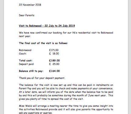 Visit to Robinwood – 22 July to 24 July 2019