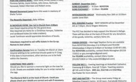 Church Notices…