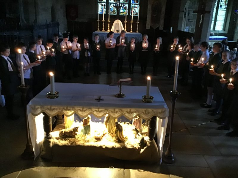 Our beautiful Candlemas was led by Year Six