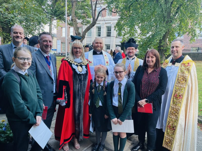 The Mayor's Service at St Mary's Church…