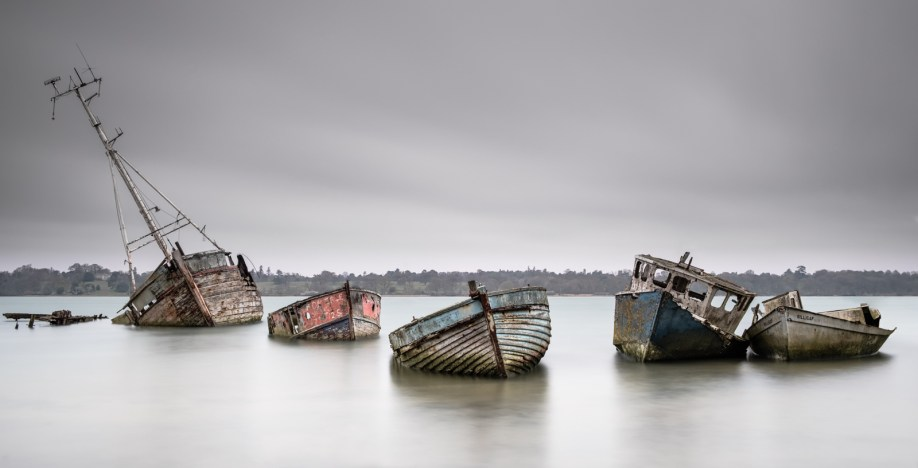 Where Old Boats Go To Die