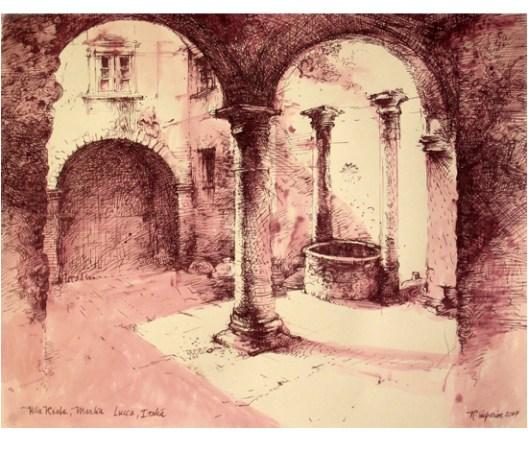 "Roy Superior, ""Villa Reale, Marlia Lucca, Italia"" 2007"