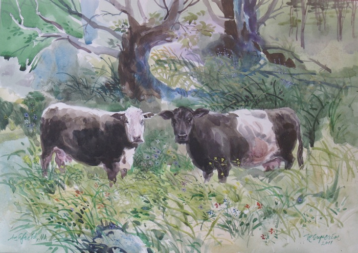"""Roy Superior, """"Two Cows"""""""