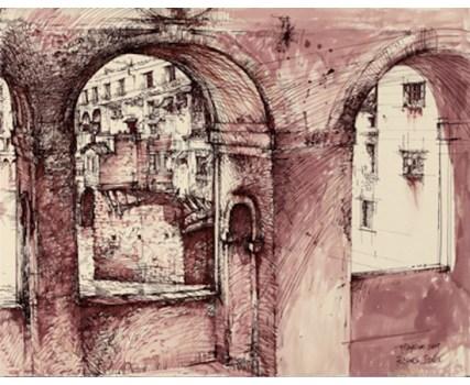 "Roy Superior, ""Arno Bridges, Firenze"""