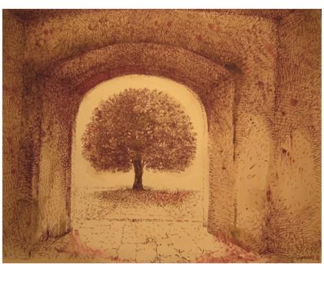 "Roy Superior, ""Tree in Barga"""
