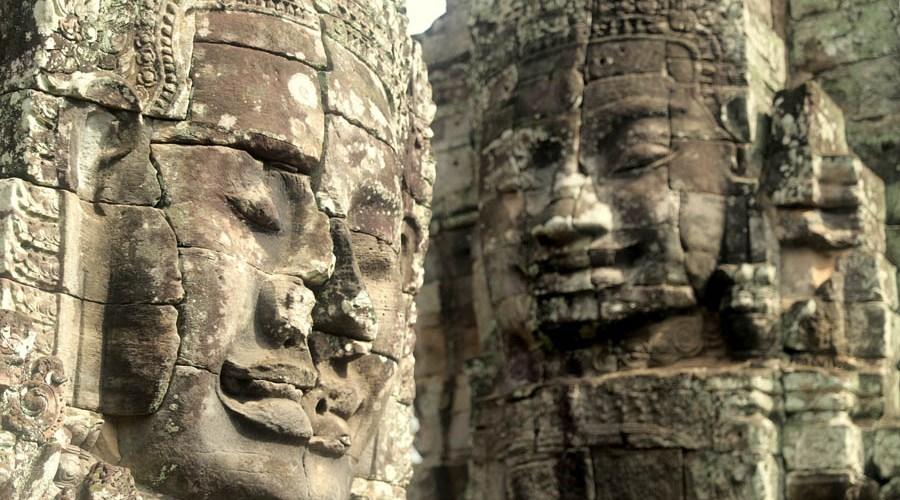 The ruins of angkor