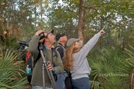 Angel and Mariel Abreu from Nature is Awesome Tours pointing out some of the many birds we saw on this trip.