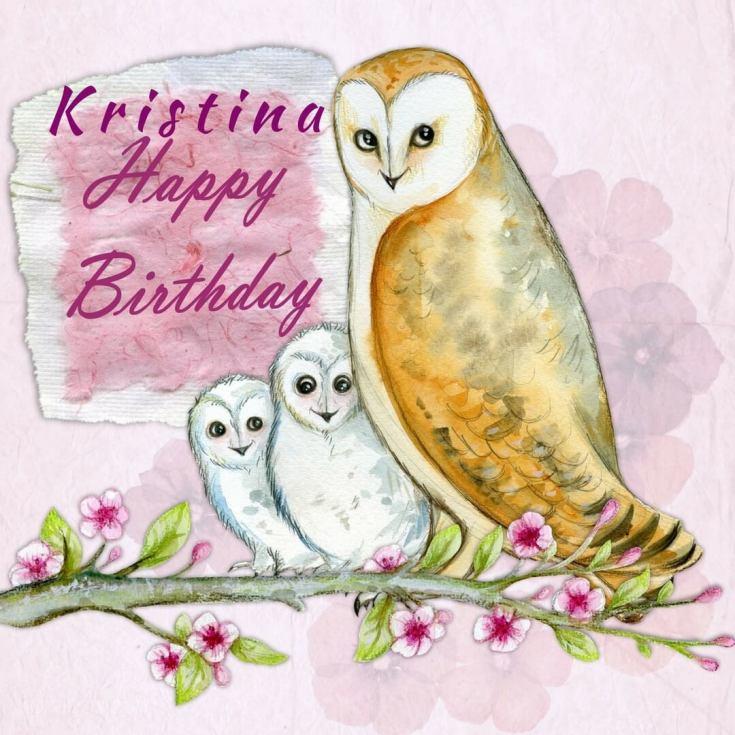 happy birthday kristina