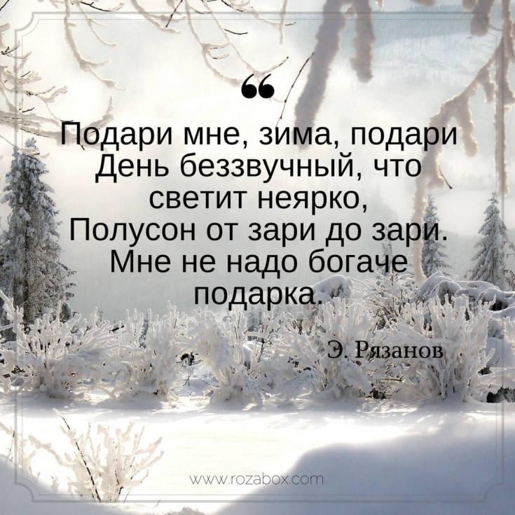 лучшие стихи о зиме великих поэтов