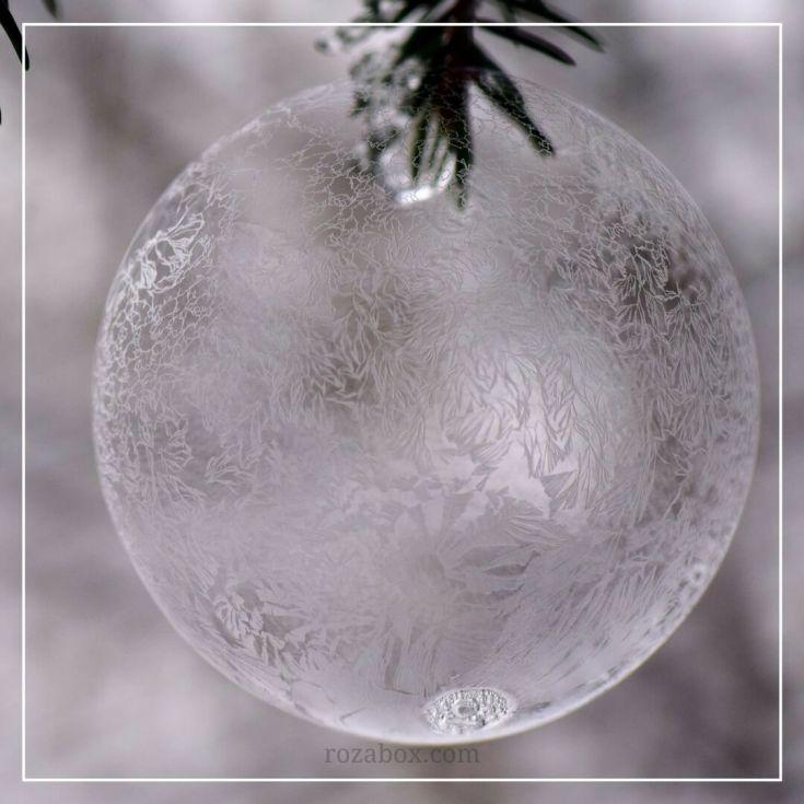 зимние льдинки фото
