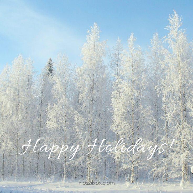 хороших зимних выходных открытка