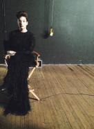 Lorde On Set
