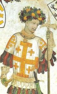 Godfryd de Bouillon, Obrońca Grobu Świętego
