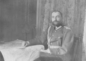 Tadeusz Rozwadowski w Paryżu - zdjęcie z 15 czerwca 1919 roku