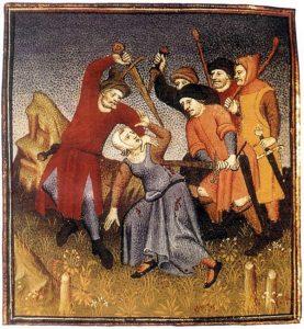 Biednych nie napadano. bo byli na to… zbyt biedni. Idealnymi ofiarami buli dostojnicy świeccy i kościelni.
