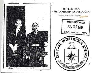 Zdjęcie żyjącego w 1954 r Hitlera