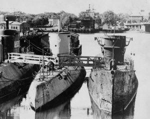 Przejęte po wojnie przez Aliantów okręty podwodne typu VIIC i XXI