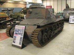 Kleiner Panzerbefehlswagen w Muzeum Czołgów w Bovington (Wielka Brytania)