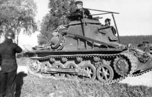Kl Panzerbefehlswagen na podwoziu Panzer I Ausf. B, front wschodni, czerwiec 1941