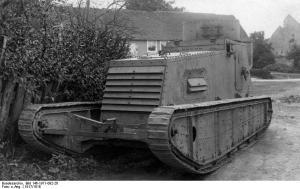 Leichter Kampfwagen I