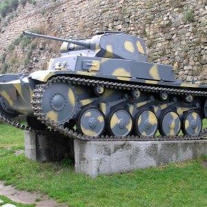PzKpfw II Ausf. F w Belgrade Military Museum, Serbia