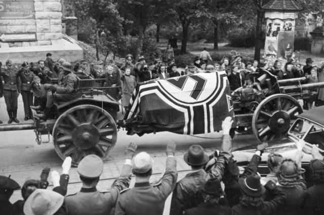 Ulm. Pogrzeb państwowy Erwina Rommla