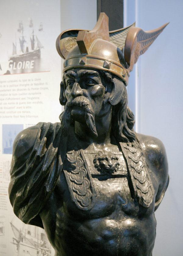 Rzeźba przedstawiająca Brennusa