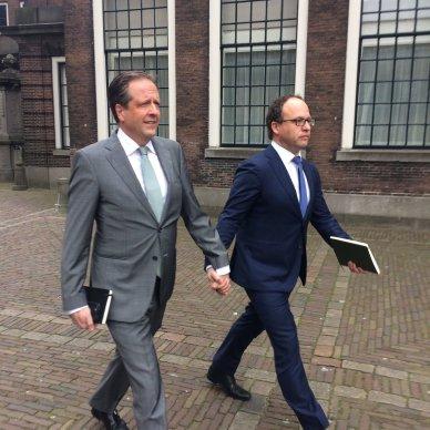 Alexander Pechthold en Wouter Koolmees D66