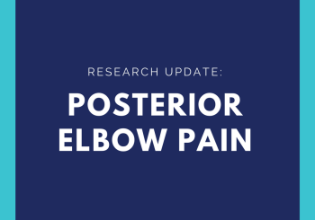 Elbow Bursitis- What is it and What can i do about it?